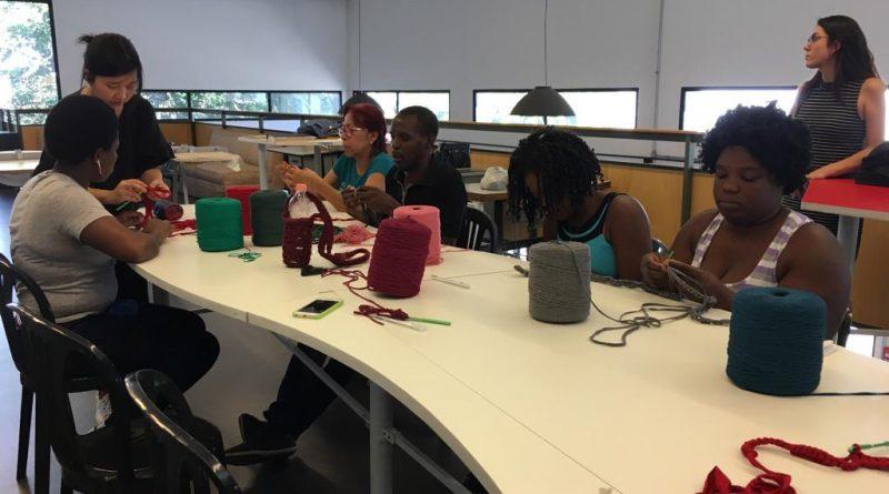 CIC do Imigrante oferece curso de crochê para imigrantes e refugiados